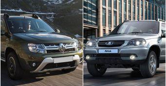 LADA Niva «уделает» Duster: Автомобилисты сравнили кроссоверы вСети