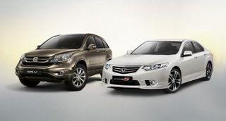 В России вырос спрос на автомобили Honda