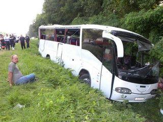 На трассе «Дон» попал в аварию рейсовый автобус
