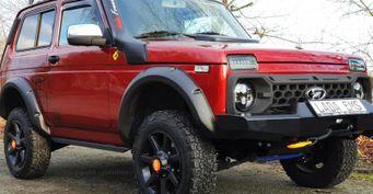 «АвтоВАЗу» следует поучиться: ВГермании продают доработанную LADA 4×4 за20 000 евро