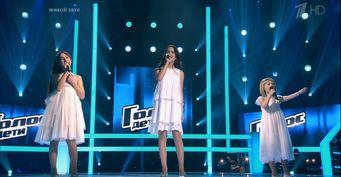 Скандальная участница «Голос.Дети» Александра Болдарева вернулась запобедой