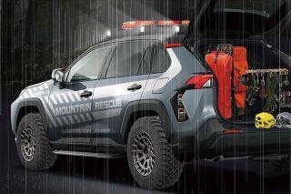 Toyota RAV4 Mountain Rescue. Фото: Toyota