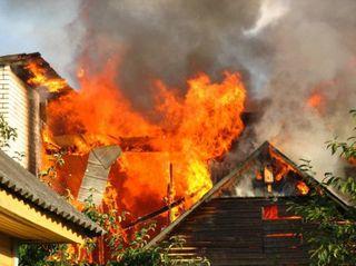 В Нижегородской области произошел пожар, погибла семья с детьми