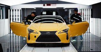 Стартовало производство нового купе Lexus LC для рынка Европы