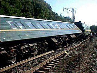 Сошедшие с рельсов вагоны на Кубани отбуксированы в Анапу