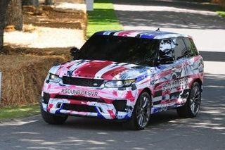 Range Rover Sport SVR презентуют 14 августа в Пеббл-Бич