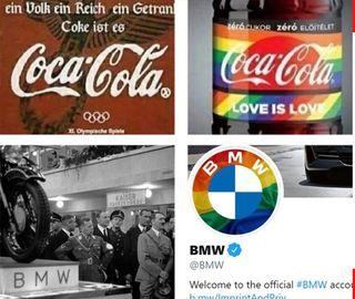 BMW и Кока-Кола ЛГБТ