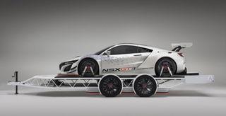 Acura сделала новый прицеп для для суперкара NSX GT3