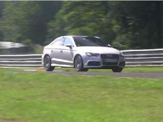 На Нюрбургринге Audi проводит испытания прототипа S3 Plus