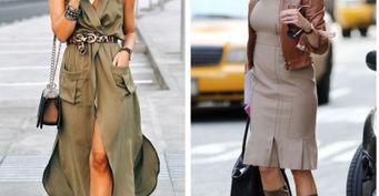 В40 как конфетка: Модные платья, украшающие «зрелую» фигуру