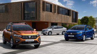 Новые Renault Logan и Sandero, источник: Renault