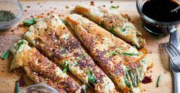 Овощные блины: Рецепт блюда из помидоров, муки и картофеля