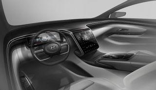 Салон Hyundai Tucson 2021, источник: Hyundai