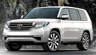 Рендер Toyota Land Cruiser 300, источник: Carsguide
