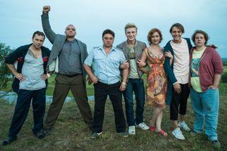 Фото: актёры сериала «Жуки». Источник: vokrug.tv