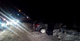 В Узловском районе автомобиль Kia протаранил дерево