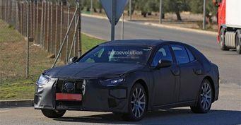 Lexus LS 2018 сфотографирован на испытаниях