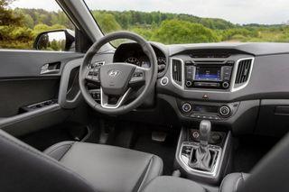 Появились официальные фото салона новой Hyundai Creta