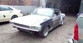 В сети отреагировали на Shelby GT500, сделанный на базе ГАЗ-24 «Волга»: «Да эта реплика круче оригинала!»