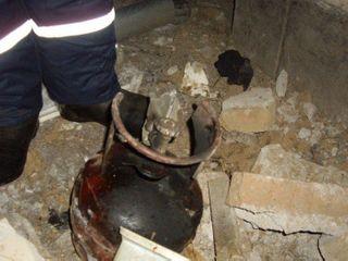 В результате взрыва бытового газа в жилом доме в Москве пострадал один человек