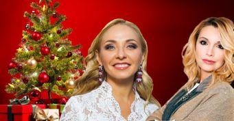 УНавки по-богатому, у Орловой скромно: Как выглядят новогодние ёлки российских знаменитостей
