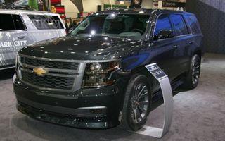 «Chevrolet» представит модель «Tahoe» 2015 в августе 2014 года