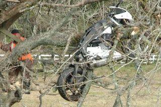 В Минской области скончался еще один мотоциклист