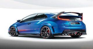 Honda представила «самый экстремальный» Civic Type R