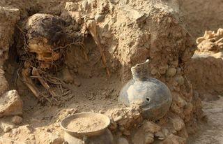 В Чили школьники нашли древнюю мумию