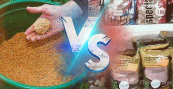 От эффективности до качества: Как выбрать между покупной исамодельной прикормкой