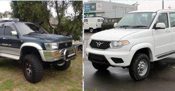 Новый УАЗ Патриот или старый Toyota Hilux Surf: Автовладельцы сравнили два внедорожника