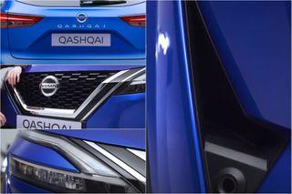 Обновление кузова Nissan Qashqai 2021. Кадры: YouTube-канал Carwow