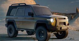 Русский «Бронко»: Представлен концепт УАЗ «Хантер» нового поколения