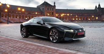 Озвучены цены премиального купе Lexus LC для Великобритании