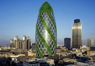 За $1,1 млрд в Лондоне продают небоскреб «Огурец»