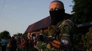 Ополченцы сбили вертолет украинских ВВС на границе с Россией