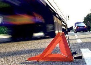 В Новополоцке МАЗ столкнул с рельс вагон грузового состава