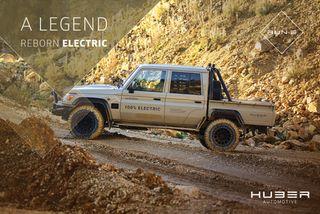 Run-E Electric Cruiser. Фото: Huber Automotive