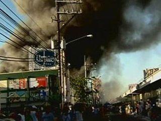 При пожаре на Филиппинах погибла мать и её пятеро детей