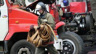 """На подстанции в """"Сколково"""" случился крупный пожар"""