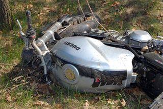 В Челябинске  столкнувшись с ВАЗом погиб мотоциклист