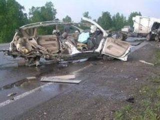В результате ДТП на трассе «Байкал» погибли 4 человека