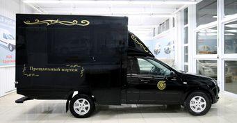 «АвтоВАЗ— главный спонсор мертвых душ»: Катафалк набазе LADA Granta Prima оценили вСети