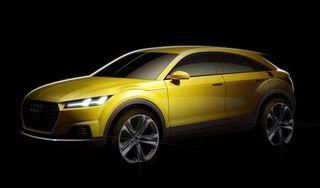 Audi рассекретила кроссовер TT оffroad, созданный на базе купе TT