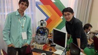 В Красноярске сконструирован робот, говорящий на нескольких языках
