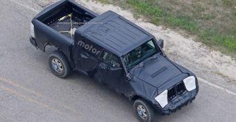 Пикап Jeep Wrangler может разделить шасси с Ram 1500