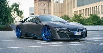 GSC показала свою версию BMW i8