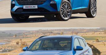 Российские дизайнеры нарисовали Hyundai Tucson четвёртого поколения