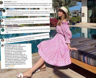 Таисия Маслякова в Дубае, негативные комментарии в YouTube и фанаты защищают подростка от нападок в Instagram. Фотоколлаж: Александра Майская Покатим.Ру