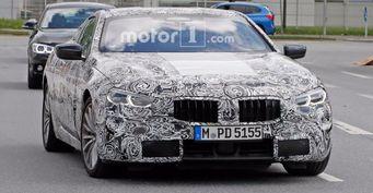 Появились первые шпионские снимки серийной версии BMW 8-Series